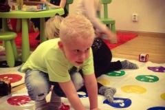 Det är inte bara på gymmet som det tränas. Fullt ös även i barnrummet idag! :) #activelandvetter #barnpassning #barnkalas