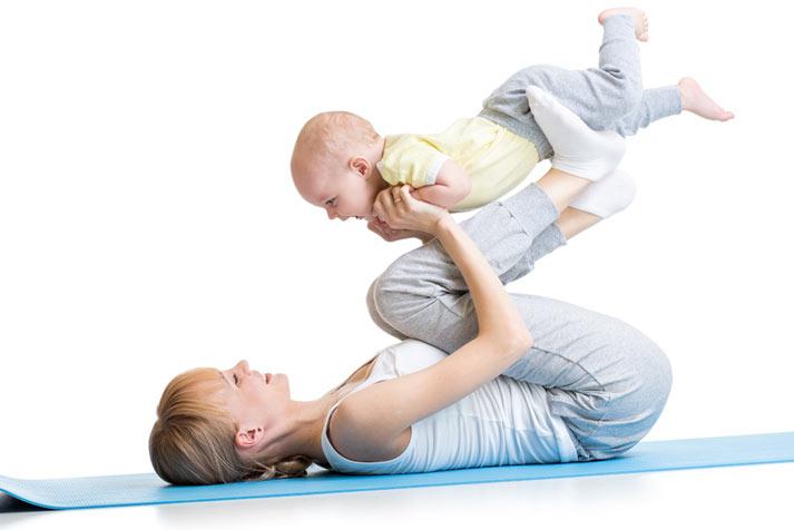 mammaträning baby